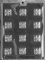 Squares with Bows (Presents) Chocolate Candy Mold