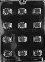 Lined Traditional Chocolate Candy Mold