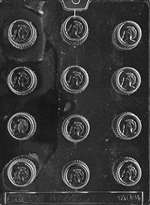 Trojan Chocolate Candy Mold