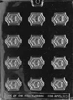 Crown Chocolate Candy Mold