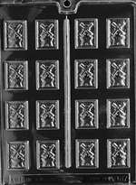 Windmill Mints Chocolate Candy Mold