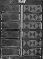 Fancy Bars Chocolate Candy Mold