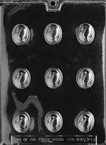 Filled with Almonds Chocolate Candy Mold