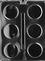 Truffle Circles Chocolate Candy Mold