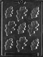Oak Leaves Large Chocolate Candy Mold