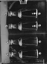 Medium Bottles Chocolate Candy Mold
