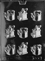 Coffee Pieces Chocolate Candy Mold