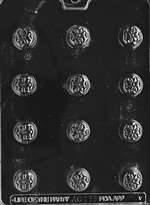 Bite Size Stylized Flower Chocolate Candy Mold