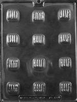 Large Caramel Chocolate Candy Mold