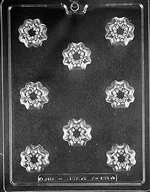 Decorative Filled Piece Chocolate Candy Mold