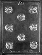 Rose Truffle For Filling Chocolate Candy Mold