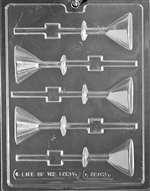 Martini Glass Lolly Chocolate Candy Mold