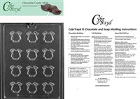 Bite Size Onesie Chocolate Candy Mold with Exclusive Cybrtrayd Copyrighted Molding Instructions