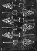 Small Tree Lolly Chocolate Candy Mold