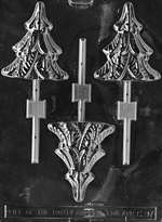 Tree Lolly Chocolate Candy Mold