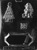 Christmas Centerpiece Chocolate Candy Mold