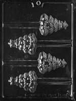 Christmas Tree Pretzel Chocolate Candy Mold