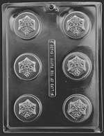 Snowflake Cookie Mold Chocolate Candy Mold