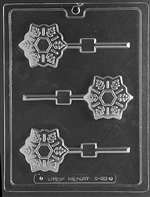 Snowflake Pop Chocolate Candy Mold