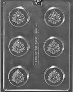 Tree Cookie Chocolate Candy Mold