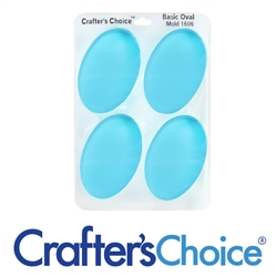 Oval Basic Silicone Soap Mold