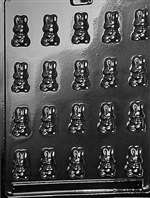 Bite Size Bunnies Chocolate Candy Mold