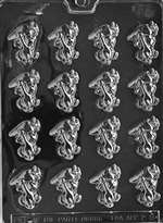 Bunnies with Carrots Chocolate Candy Mold