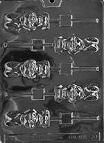 Chunky Bunny Lolly Chocolate Candy Mold