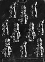 Assorted Bunnies Chocolate Candy Mold