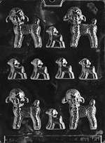 Assorted Lambs- Large/Small Chocolate Candy Mold