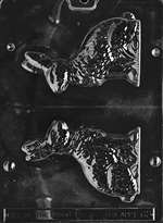 Medium Sitting Bunny Chocolate Candy Mold