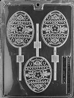 Large Egg Lolly Chocolate Candy Mold