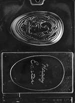 Happy Easter Egg Chocolate Candy Mold