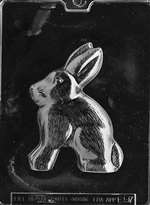 Rabbit For Specialty Box Chocolate Candy Mold
