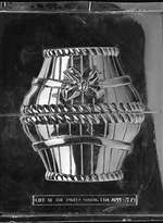 3D Large Basket With Bow Easter Jumbo Chocolate Candy Mold