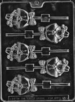 Ballet Bunny Lolly Chocolate Candy Mold