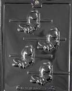 Carousel Rabbits Chocolate Candy Mold