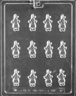 Easter Bunny Decos Chocolate Candy Mold