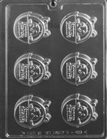 Happy Easter Basket Cookie Chocolate Candy Mold
