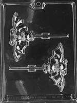 Bat Lolly Halloween Chocolate Candy Mold