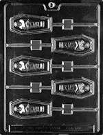 Casket Lolly Halloween Chocolate Candy Mold