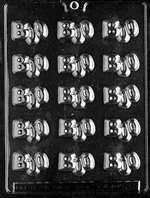 Bite Size Boos Halloween Chocolate Candy Mold