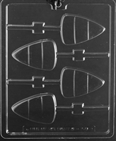 Large Candy Corn Lolly Chocolate Candy Mold with Exclusive Cybrtrayd Copyrighted Molding Instructions