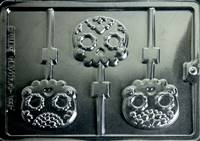 Day of the Dead Sugar Skull Lollies Pops Chocolate Candy Mold