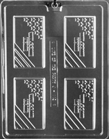 Welcome Home Business Card Chocolate Candy Mold