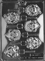 Clown Lolly Chocolate Candy Mold