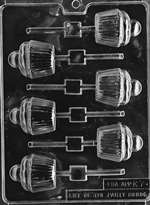 Cupcake Lolly Chocolate Candy Mold