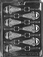 Ice Cream Cone Lolly Chocolate Candy Mold