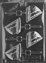 Sailboat Lolly Chocolate Candy Mold