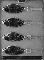 Submarine Lolly Chocolate Candy Mold
